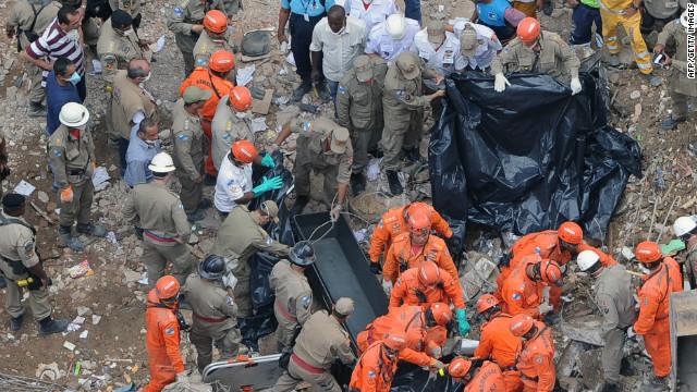 Aumenta a 4 el número de muertos por derrumbe de edificios en Brasil