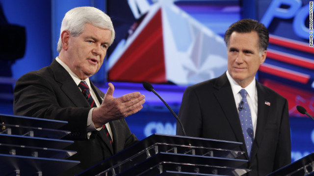 Borger: Newt and Mitt: Two guys with issues