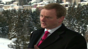 Irish PM Enda Kenny talks to Richard Quest