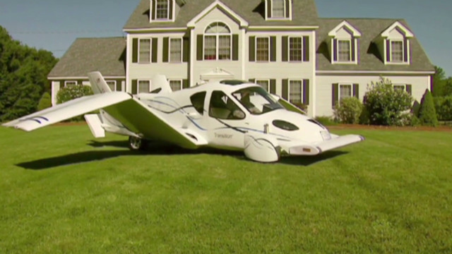 ¿Un avión en tu garaje?
