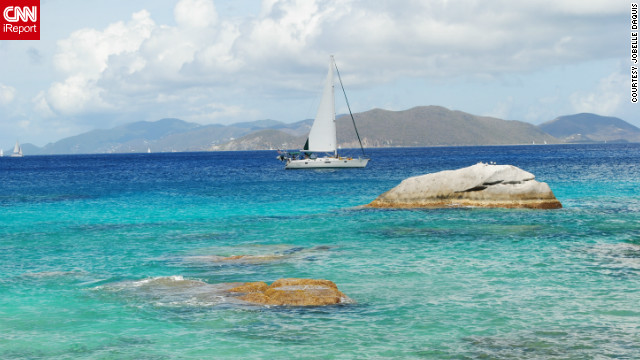 Jobelle Daquis lives in the British Virgin Islands and took this photo of sailing in Spring Bay, Virgin Gorda.