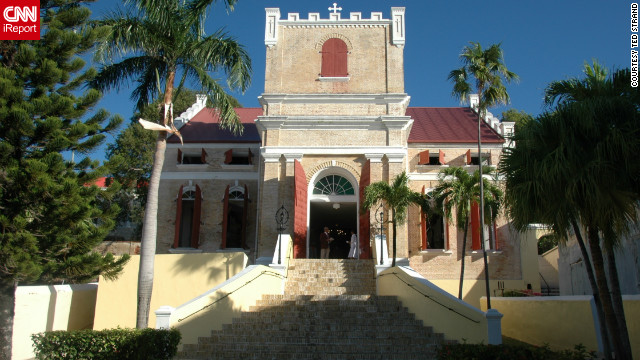Ted Strand snapped this shot of the historic Frederick Lutheran Church in Charlotte Amalie on St. Thomas.
