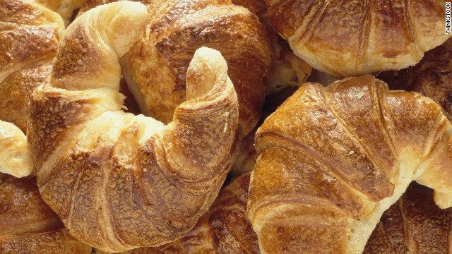 Breakfast buffet: National croissant day