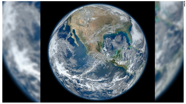 La NASA capta espectacular imagen de la Tierra