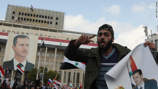 Cifra de muertos el domingo en Siria es de 64, según grupos de oposición