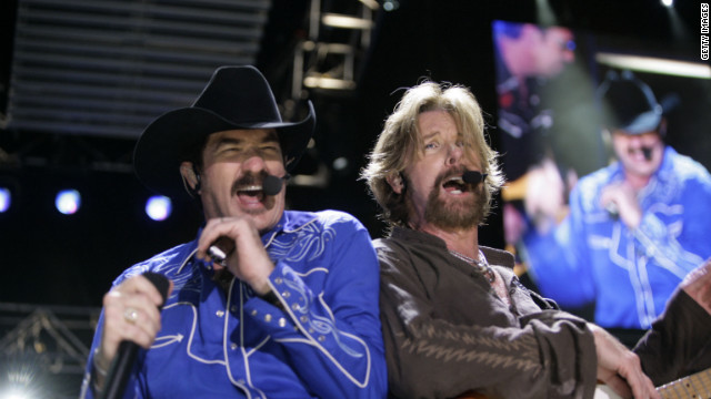 Kix Brooks and Ronnie Dunn of Brooks & Dunn, whose song 