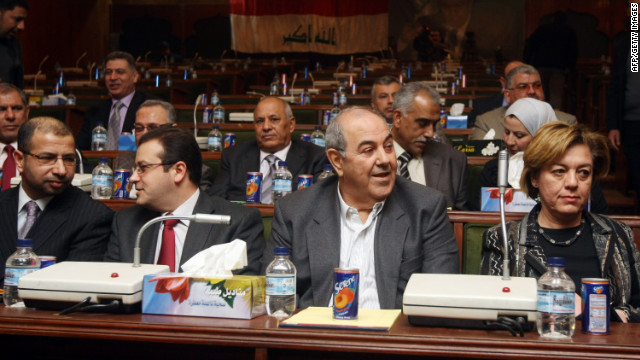 Members of the Iraqiya bloc voted on Sunday to end a boycott of parliament that began in mid-December.