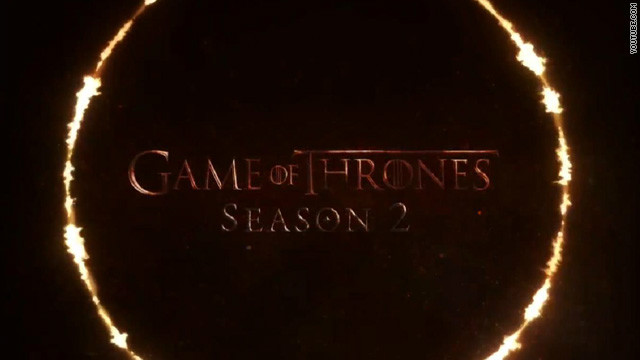 'Game of Thrones' season 2 trailer