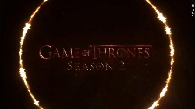 'Game of Thrones' season 2 trailer