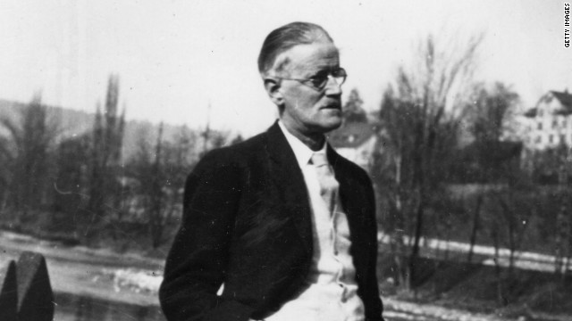 James Joyce, the author of 