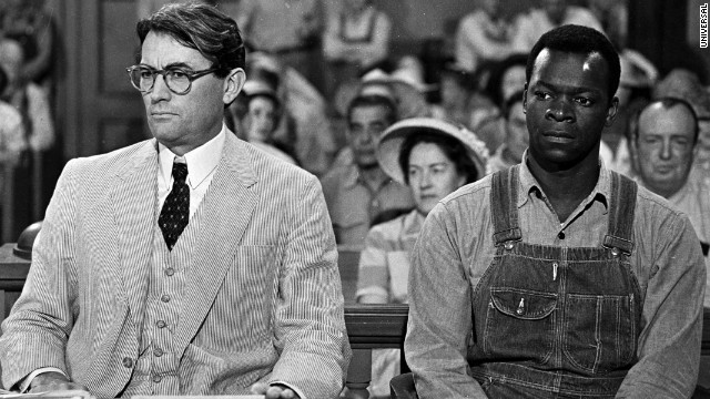 "Harper Lee, the author of the classic ""To Kill a Mockingbird,"" has sued the Monroe County Heritage Museum for trademark infringement, saying it is illegally using her fame for its own gain. Her book was turned into a movie staring Gregory Peck, left, and Brock Peters as Atticus Finch and Tom Robinson."