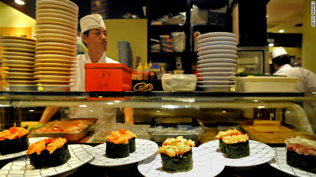 The best sushi restaurants in Tokyo