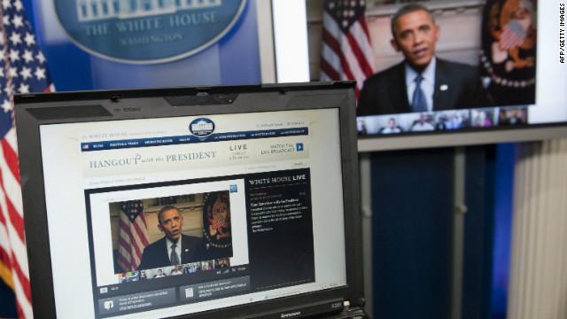 Estadounidenses muestran frustración a Obama en Google+