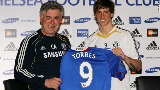 The final day of the January 2011 transfer window was full of surprises, with Spain striker Fernando Torres joining Chelsea from Liverpool in a shock $80 million transfer. Liverpool reinvested $55 million of that fee in young Newcastle forward Andy Carroll, although both players have since struggled to justify their enormous price tags.