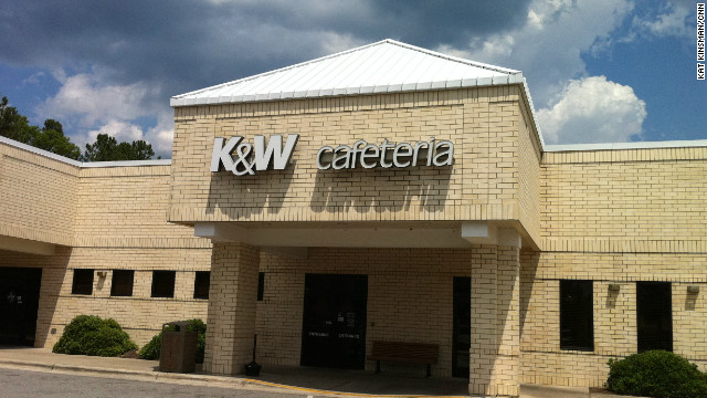 Mehepyewpleez? A love letter to K&W Cafeteria