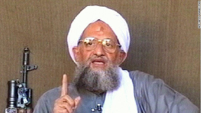 Al Qaeda leader Ayman al-Zawahiri, who senior US counter terrorism officials call the only leader of consequence left.