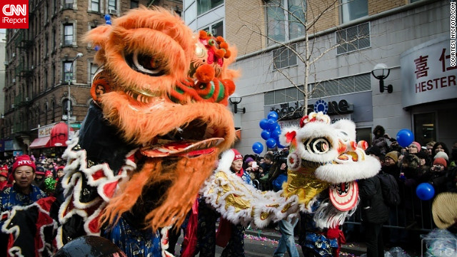 Celebrating Chinese New Year in New York