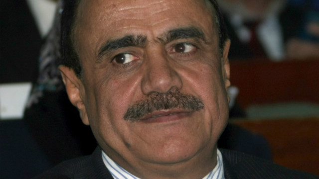 A file picture shows Yemen's Information Minister Ali Ahmed al-Amrani.