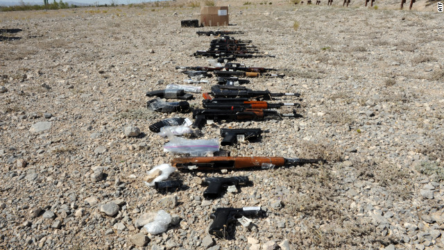 El 70% de las armas recuperadas en México son de EE.UU.