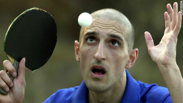 British journalist Matthew Syed represented his country at the Olympics in the sport of table tennis.