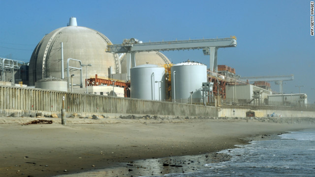 Investigan fuga de vapor radiactivo en planta nuclear de California