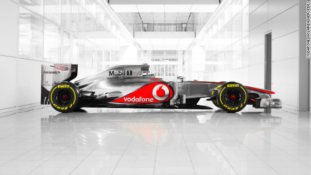 <br/>British Formula One team McLaren unveiled their car for the 2012 season on Wednesday -- the MP4-27.