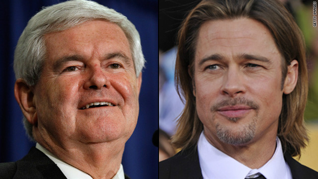 Newt Gingrich: Brad Pitt could play me in a movie