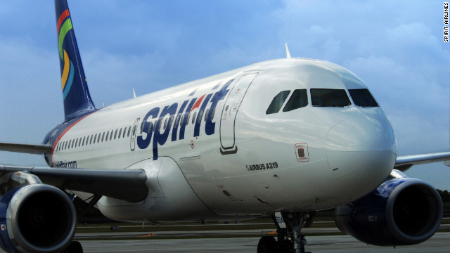 Overheard on CNN.com: 'Kiss my carry-on,' reader says of Spirit's new $100 fee