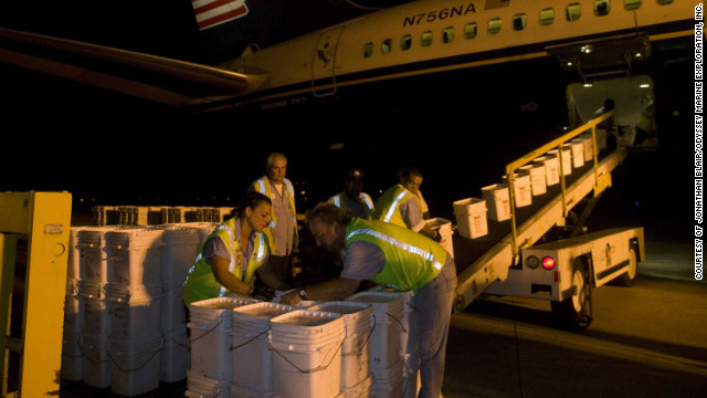 In 2007, Odyssey airlifted the coins from Gibraltar to Florida, where they are being held by the company at a &quot;secret, undisclosed&quot; location.