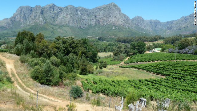 Western Cape mountains.