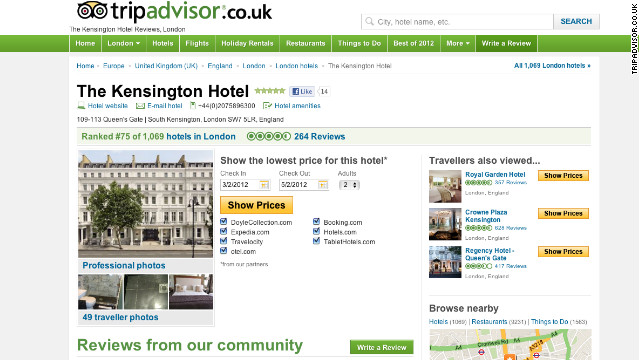 TripAdvisor has changed some of the wording on its UK site in response to a complaint filed with an ad regulator.