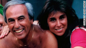 Roni Selig poses for a photo with her dad before his death. He died at 71 after fighting non-Hodgkin\'s lymphoma.