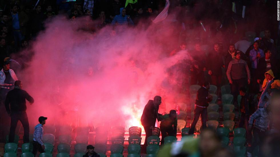 Una fiesta de fútbol terminó en tragedia