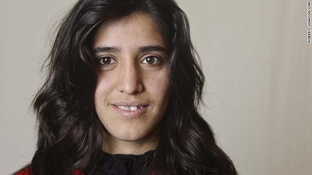 Lida, 18, hopes to become a teacher.