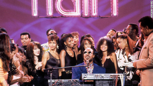 Stevie Wonder apperas on the show. The elite of late-20th century black pop musicians, from Aretha Franklin, Smokey Robinson, James Brown, Teddy Pendergrass, Marvin Gaye, Al Green, Diana Ross and Gladys Knight, to the Jackson Five, O'Jays, Spinners, Gap Band and Commodores took live turns on the &quot;Train&quot; -- and frequently delivered some of their more potent televised performances.
