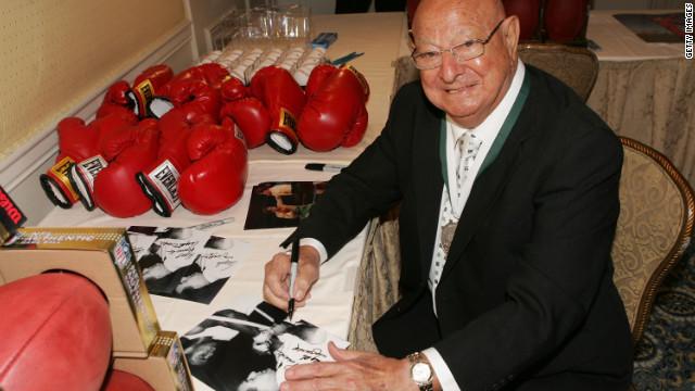 Luto por la muerte de Angelo Dundee, el entrenador de leyendas del boxeo