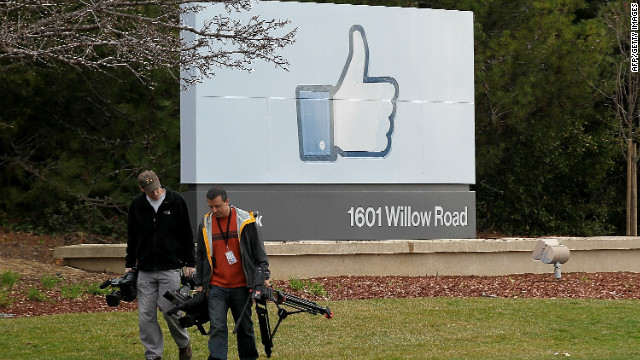 Overheard on CNN.com: 'I saw this one coming a mile away,' reader says of Facebook