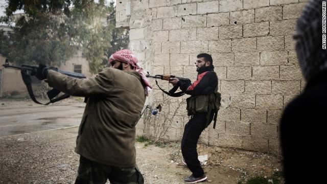 Días de sangre en Homs, la capital de la revolución siria
