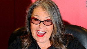 Roseanne Barr was once stopped from working a comedy club because she told rape jokes.