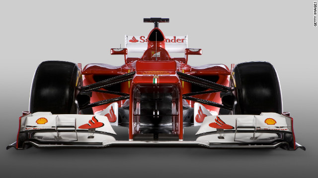 Ferrari unveil F2012