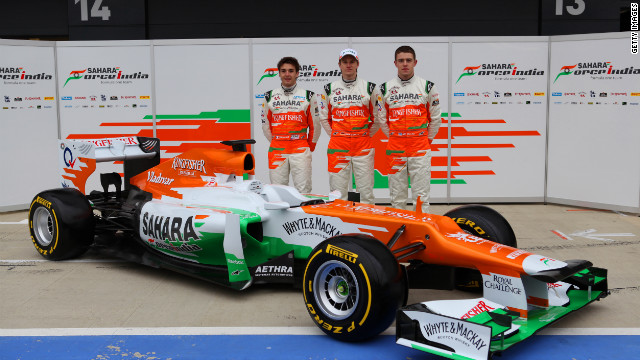 Silverstone-based Force India also unveiled their new VJM05 car at the historic British circuit on Friday. 