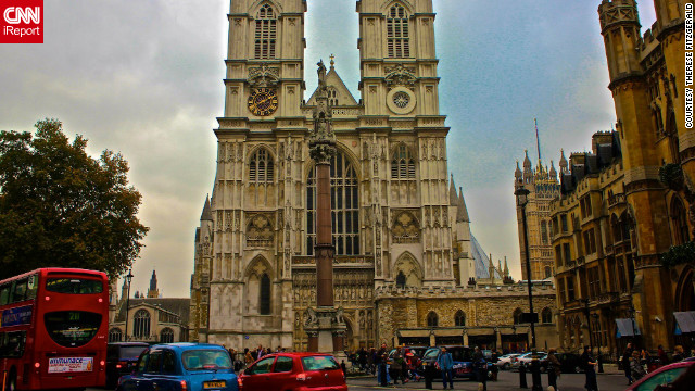 Therese Fitzgerald took this photo of Westminster Abbey. &quot;The history and stories surrounding this beautiful abbey is overwhelming once you step inside. The architecture is breathtaking and it's just magical to walk in the footsteps of so many of history's legends.&quot;
