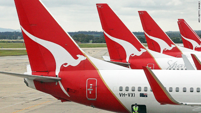 Qantas plans at Sydney airport