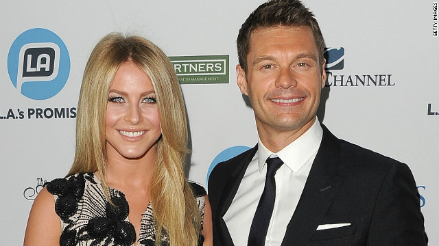 Julianne Hough on her &#039;great&#039; relationship with Seacrest