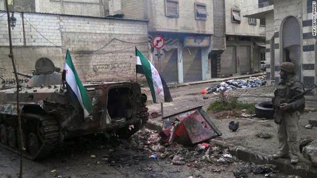 El Ejército sirio mata a más 200 personas en Homs