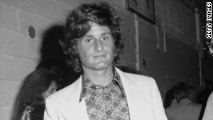Zalman King poses outside an unidentified location in the 1970s.