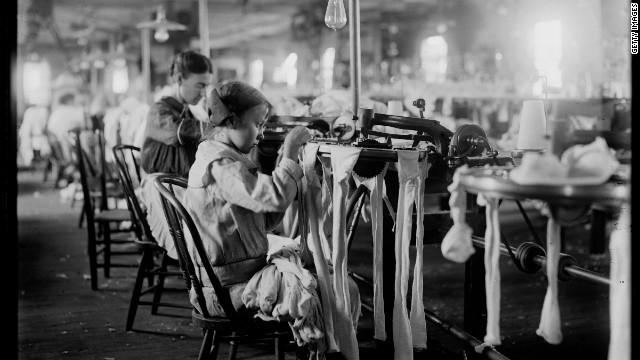 Sweatshops during the Industrial Revolution - ThingLink