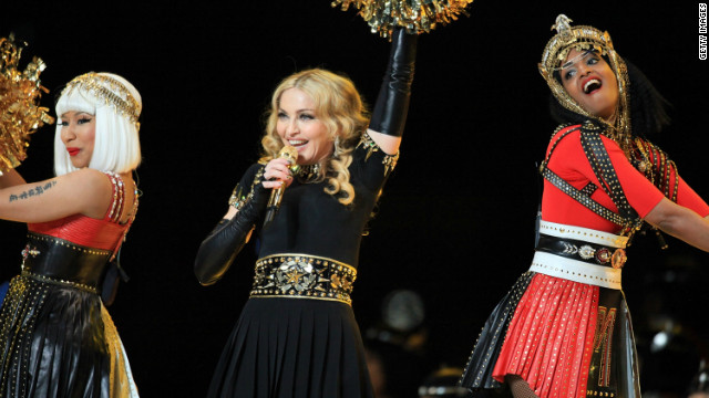 Madonna on M.I.A. bird flip: It was out of place