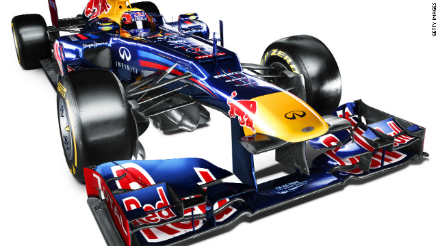 Red Bull RB8 unveiled