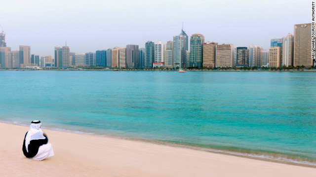 Stunning beaches and crystal clear waters of Abu Dhabi.